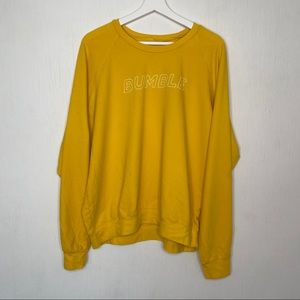 Project Social T Yellow Bumble Pullover Sweatshirt